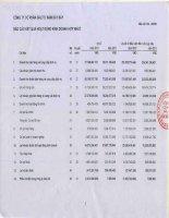 Báo cáo KQKD hợp nhất quý 2 năm 2012 - Công ty Cổ phần Đầu tư Năm Bảy Bảy