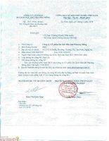 Báo cáo thường niên năm 2015 - Công ty cổ phần Du lịch Dầu khí Phương Đông