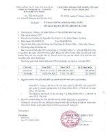 Báo cáo tài chính năm 2013 (đã kiểm toán) - Công ty cổ phần Dịch vụ Vận tải Dầu khí Cửu Long