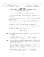 Nghị quyết Đại hội cổ đông thường niên năm 2012 - Công ty cổ phần Cấp nước Nhơn Trạch