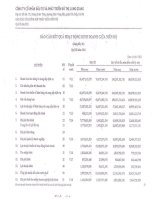 Báo cáo KQKD hợp nhất quý 3 năm 2011 - Công ty cổ phần Đầu tư và Phát triển Đô thị Long Giang