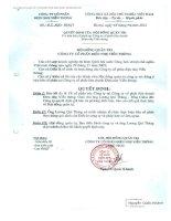 Nghị quyết Hội đồng Quản trị - Công ty cổ phần Điện nhẹ Viễn thông
