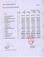 Báo cáo KQKD công ty mẹ quý 4 năm 2012 - Công ty Cổ phần Đầu tư Năm Bảy Bảy