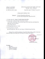 Báo cáo thường niên năm 2012 - Công ty Cổ phần Đường Ninh Hòa