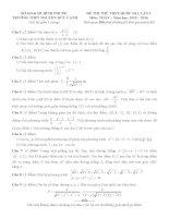 đề thi thử thpt quốc gia môn toán DE263 THPT nguyễn hữu cảnh, bình phước (l3)
