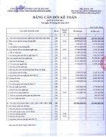 Báo cáo tài chính quý 2 năm 2011 - Công ty cổ phần Dịch vụ Vận tải Dầu khí Cửu Long