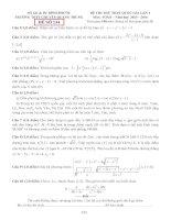 đề thi thử thpt quốc gia môn toán DE134 THPT chuyên quang trung, bình phước (l1) w