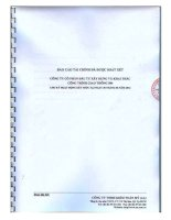 Báo cáo tài chính công ty mẹ quý 2 năm 2012 (đã soát xét) - Công ty cổ phần Đầu tư Xây dựng và Khai thác Công trình Giao thông 584