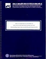 Báo cáo tài chính hợp nhất quý 2 năm 2015 (đã soát xét) - Công ty Cổ phần Đầu tư Cầu đường CII