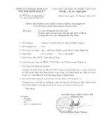 Nghị quyết Hội đồng Quản trị - Công ty Cổ phần Điện lực Dầu khí Nhơn Trạch 2