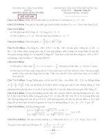 đề thi thử thpt quốc gia môn toán DE199 THPT hùng vương, bình phước (l3)