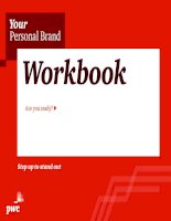 YOUR PERSONAL BRAND WORKBOOK  (pwc)