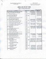 Báo cáo tài chính quý 1 năm 2016 - CTCP Dược phẩm 2-9 TP. Hồ Chí Minh
