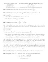 đề thi thử thpt quốc gia môn toán DE236 sở GD   đt bình thuận