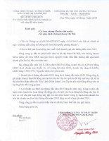 Báo cáo tài chính quý 2 năm 2015 - Tổng Công ty Đầu tư Phát triển Nhà và Đô thị Nam Hà Nội