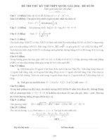 đề thi thử thpt quốc gia môn toán DE50 THPT trần nhân tông  quảng ninh w