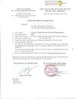 Báo cáo tài chính quý 2 năm 2014 - Công ty cổ phần Du lịch Dầu khí Phương Đông