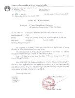 Nghị quyết Hội đồng Quản trị - Công ty Cổ phần Đầu tư và Xây dựng Bưu điện