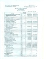 Báo cáo tài chính công ty mẹ quý 1 năm 2015 - Công ty Cổ phần Vận tải và Dịch vụ Petrolimex Hải Phòng