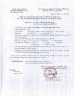 Báo cáo tài chính công ty mẹ quý 3 năm 2014 - Công ty Cổ phần Văn hóa Phương Nam