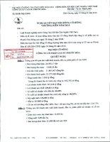 Nghị quyết đại hội cổ đông ngày 25-3-2010 - Công ty cổ phần Cao su Phước Hòa