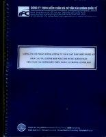 Báo cáo tài chính hợp nhất năm 2013 (đã kiểm toán) - Công ty Cổ phần Tổng Công ty Xây lắp Dầu khí Nghệ An