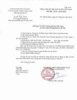 Báo cáo tài chính quý 4 năm 2014 - Công ty Cổ phần Dược phẩm Dược liệu Pharmedic