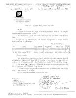 Báo cáo tài chính công ty mẹ quý 2 năm 2014 - Tập đoàn Xăng dầu Việt Nam