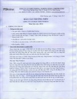Báo cáo thường niên năm 2014 - Công ty Cổ phần Thép Pomina