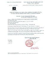 Nghị quyết Hội đồng Quản trị - Công ty Cổ phần Xuất nhập khẩu Petrolimex