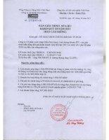 Báo cáo tài chính công ty mẹ quý 3 năm 2011 - Công ty Cổ phần Xuất nhập khẩu Petrolimex