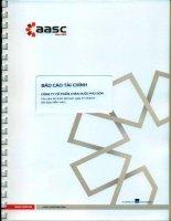 Báo cáo tài chính năm 2014 (đã kiểm toán) - Công ty Cổ phần Chăn nuôi Phú Sơn