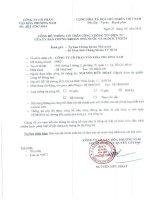 Báo cáo tài chính công ty mẹ quý 2 năm 2014 (đã soát xét) - Công ty Cổ phần Văn hóa Phương Nam