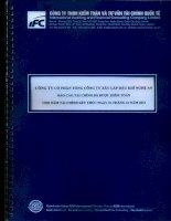 Báo cáo tài chính công ty mẹ năm 2013 (đã kiểm toán) - Công ty Cổ phần Tổng Công ty Xây lắp Dầu khí Nghệ An