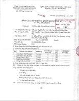 Báo cáo tình hình quản trị công ty - Công ty cổ phần Tư vấn Điện lực Dầu khí Việt Nam
