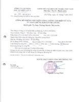 Báo cáo tài chính quý 2 năm 2013 - CTCP Đầu tư Điện lực 3