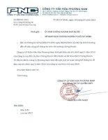 Báo cáo tài chính công ty mẹ quý 2 năm 2013 - Công ty Cổ phần Văn hóa Phương Nam