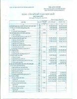 Báo cáo tài chính hợp nhất quý 2 năm 2015 - Công ty Cổ phần Vận tải và Dịch vụ Petrolimex Hải Phòng