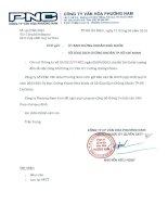 Báo cáo tài chính hợp nhất quý 4 năm 2013 - Công ty Cổ phần Văn hóa Phương Nam