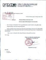 Báo cáo tài chính công ty mẹ quý 1 năm 2014 - Công ty Cổ phần Văn hóa Phương Nam