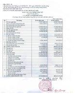 Báo cáo tài chính quý 4 năm 2007 - Tổng Công ty Dung dịch khoan và Hóa phẩm Dầu khí-CTCP