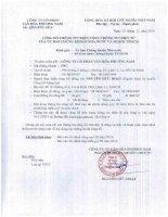 Báo cáo tài chính hợp nhất quý 3 năm 2014 - Công ty Cổ phần Văn hóa Phương Nam
