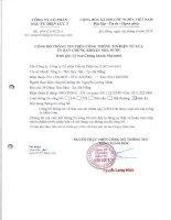 Báo cáo tài chính quý 2 năm 2014 (đã soát xét) - CTCP Đầu tư Điện lực 3