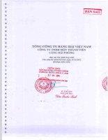 Báo cáo tài chính hợp nhất năm 2012 (đã kiểm toán) - Công ty cổ phần Cảng Hải Phòng