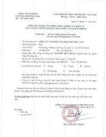 Báo cáo tài chính công ty mẹ năm 2014 (đã kiểm toán) - Công ty Cổ phần Văn hóa Phương Nam