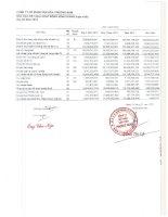 Báo cáo KQKD hợp nhất quý 4 năm 2012 - Công ty Cổ phần Văn hóa Phương Nam