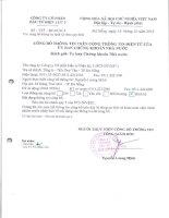 Báo cáo tài chính quý 3 năm 2013 - CTCP Đầu tư Điện lực 3