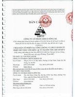 Bản cáo bạch năm 2015 - Công ty Cổ phần Simco Sông Đà