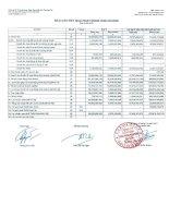 Báo cáo tài chính công ty mẹ quý 3 năm 2013 - Công ty Cổ phần Chứng khoán Ngân hàng Sài Gòn Thương Tín