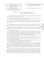Báo cáo tài chính công ty mẹ quý 3 năm 2014 - Tổng Công ty cổ phần Xây lắp Dầu khí Việt Nam